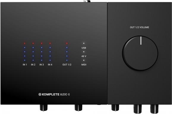 Аудиоинтерфейс Native Instruments Komplete Audio 6 MK2