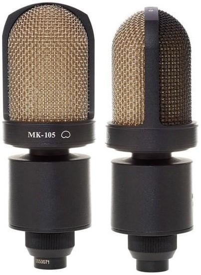 Микрофон Октава МК-105 стереопара, черный