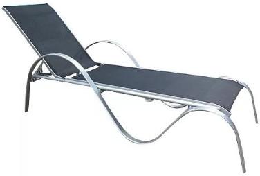 Шезлонг-лежак Афина-Мебель MC-3033N/B черный