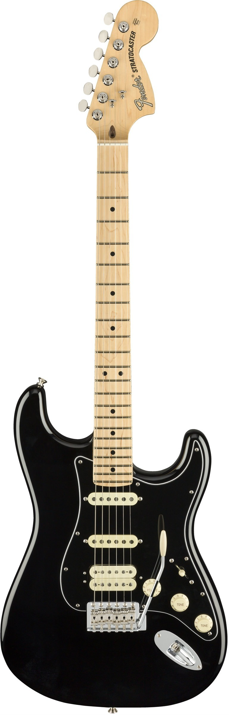 Электрогитара Fender American Performer Stratocaster® HSS, Maple Fingerboard Black