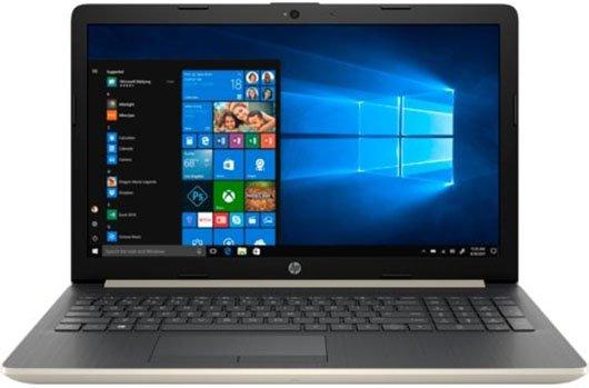 """Ноутбук HP 15-da0087ur 15,6""""/2,3GHz/4Gb/500Gb/GeForce MX110/W10 Gold"""
