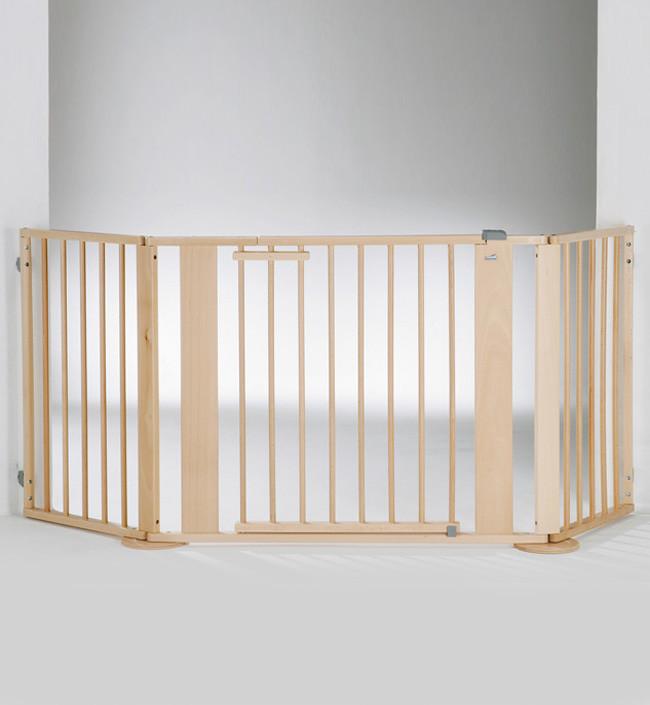 Ворота безопасности Geuther натуральное дерево