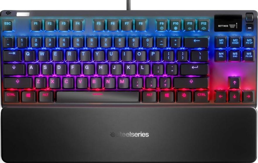 Клавиатура SteelSeries Apex Pro TKL RU USB Black