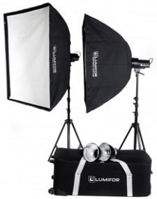 Комплект осветителей Lumifor Creto LCR-300-2SS Classic Kit
