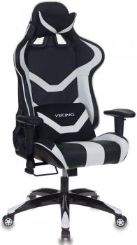 Игровое кресло Бюрократ CH-772N/BL+WHITE черный/белый