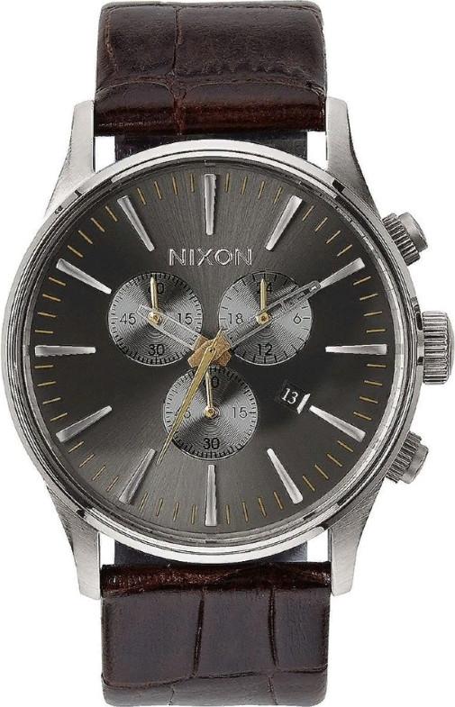 Наручные часы Nixon Sentry Chrono Leath…