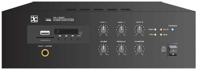 Усилитель мощности Direct Power Technology PA-120BR
