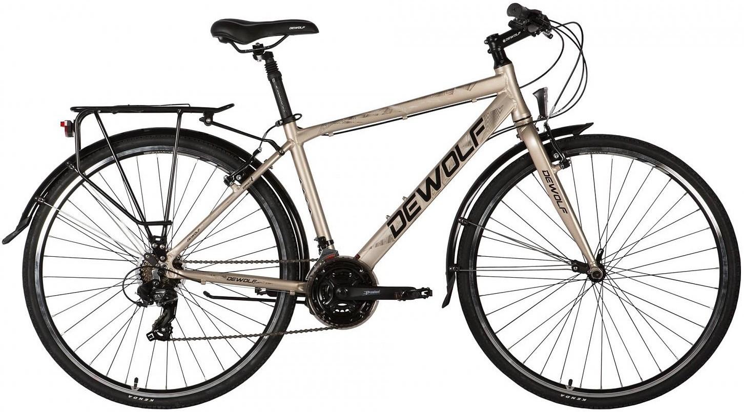 """Велосипед Dewolf Asphalt 4 серый 28"""""""