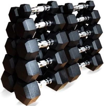 Гантели Original FitTools 10 пар 1-10 кг