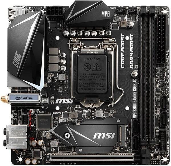 Материнская плата MSI MPG Z390I Gaming EDGE AC LGA 1151v2