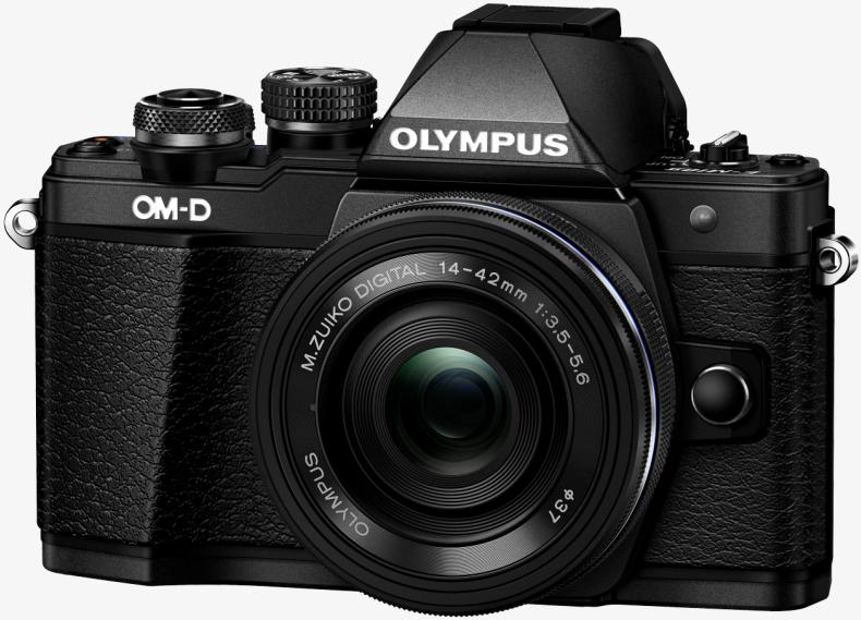 Фотоаппарат Olympus OM-D E-M10 Mark II Kit 14-42mm f/3.5-5.6 EZ Black + 40-150mm f/4.0-5.6 R