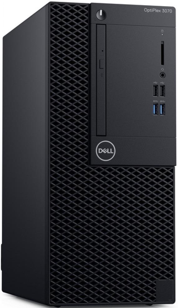Компьютер Dell OptiPlex 3070 MT 3GHz/8Gb/256GbSSD/Linux Black