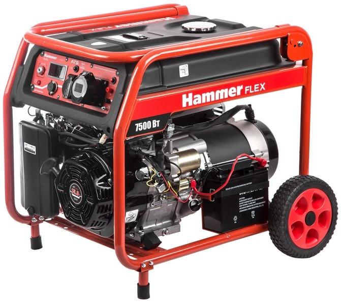 Бензогенератор Hammer GN8000ATS (без автозапуска)