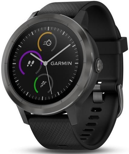 Умные часы Garmin Vivoactive 3 Black/Bl…