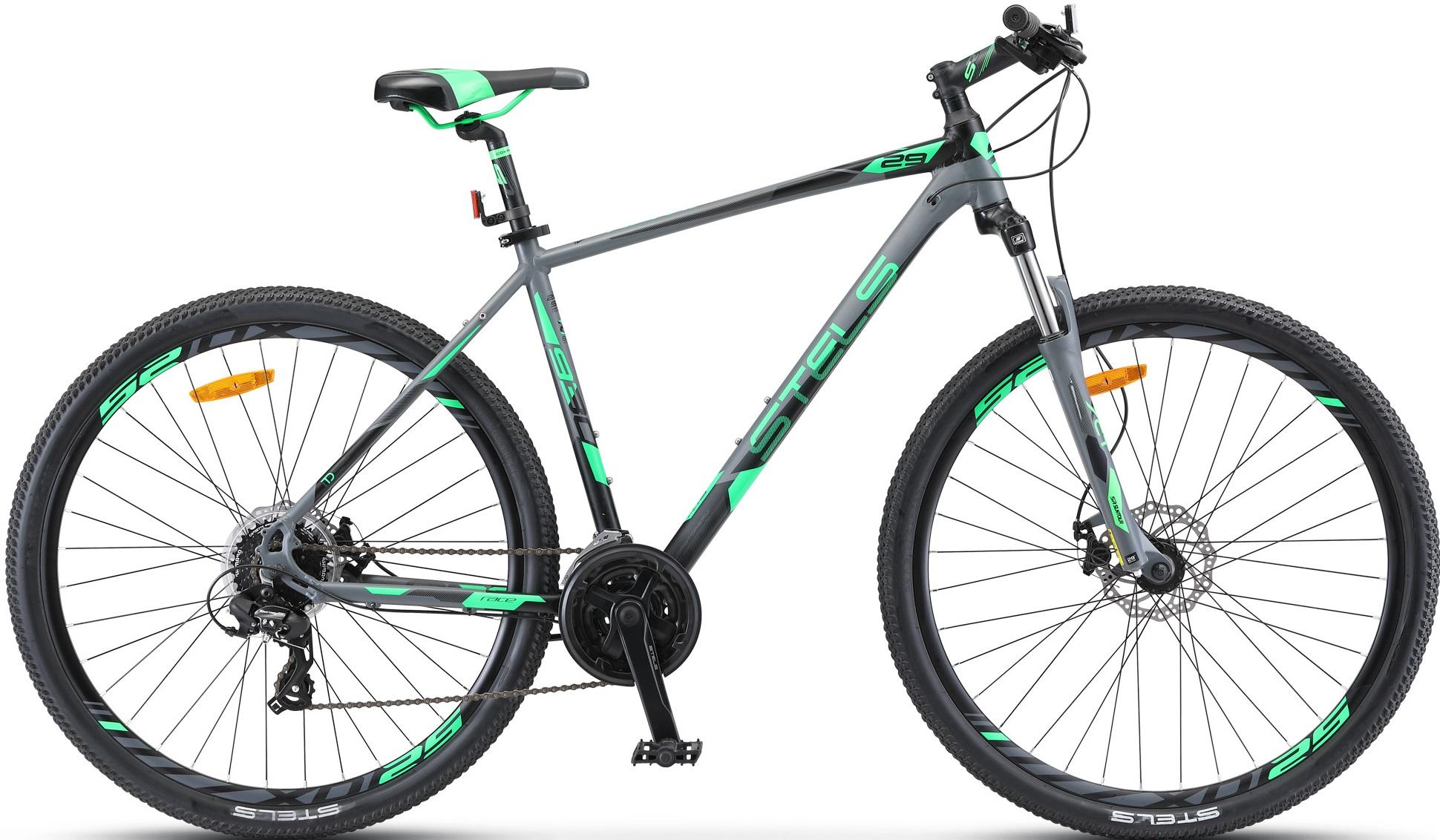 """Велосипед Stels Navigator 930 MD 29 V010 (2019) серый/черный 29""""/16.5"""""""