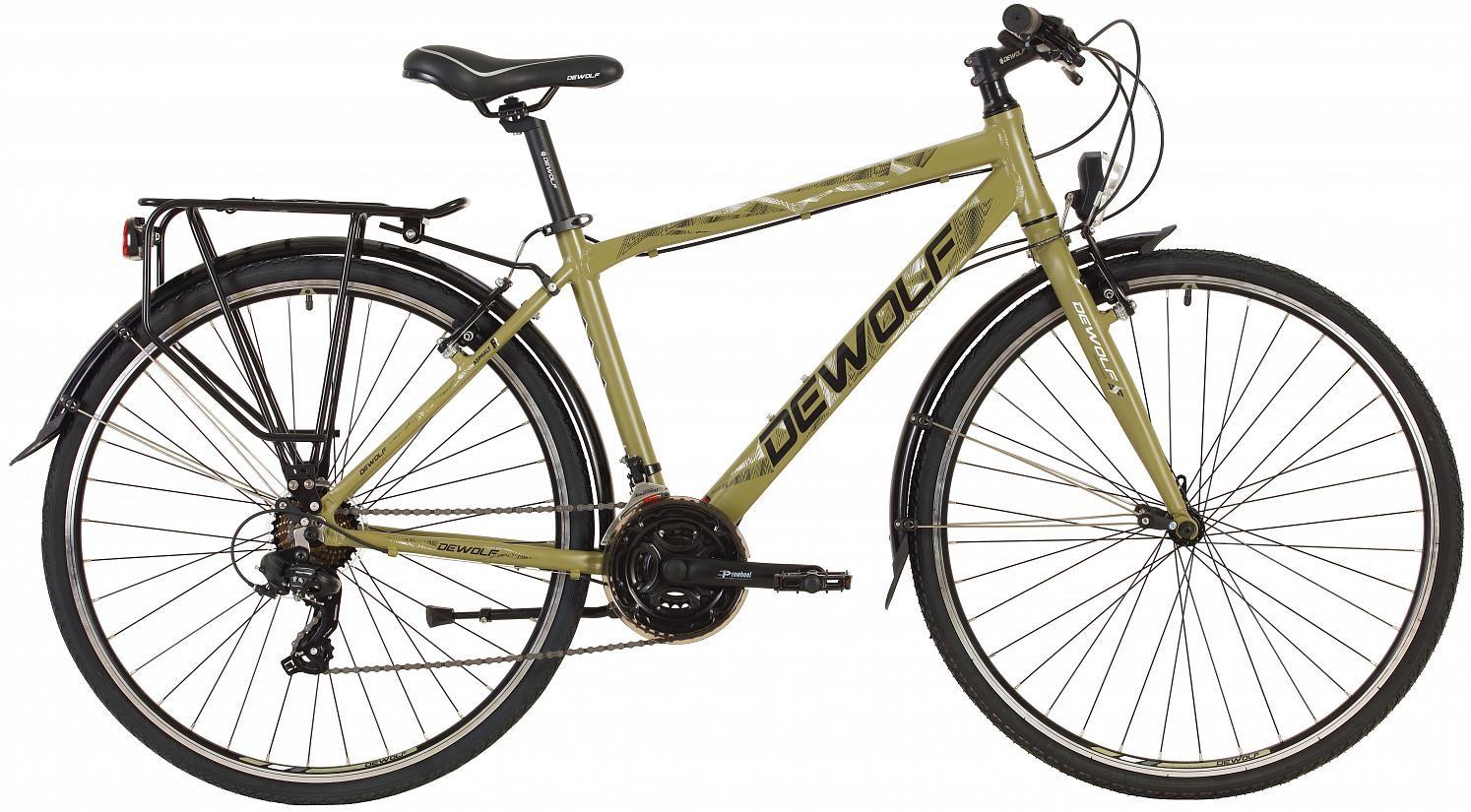 """Велосипед Dewolf Asphalt R хаки 28"""""""