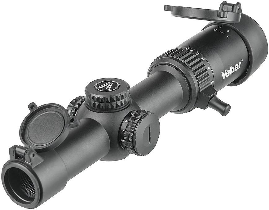 Прицел Veber Wolf 1-8x24 GB FD Загонник
