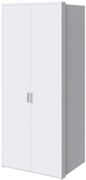Шкаф Интердизайн Белла 28.20 белый глянец 221x97x60 см