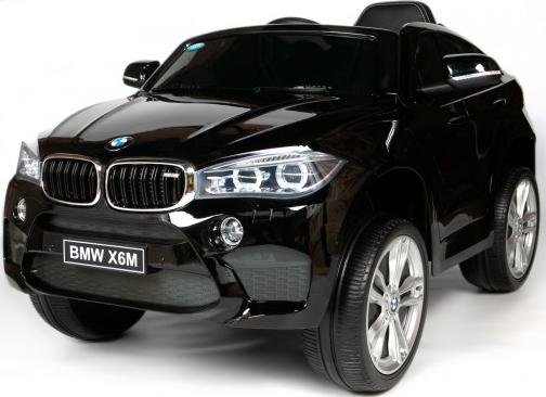 Электромобиль Barty BMW X6M Black (одно…