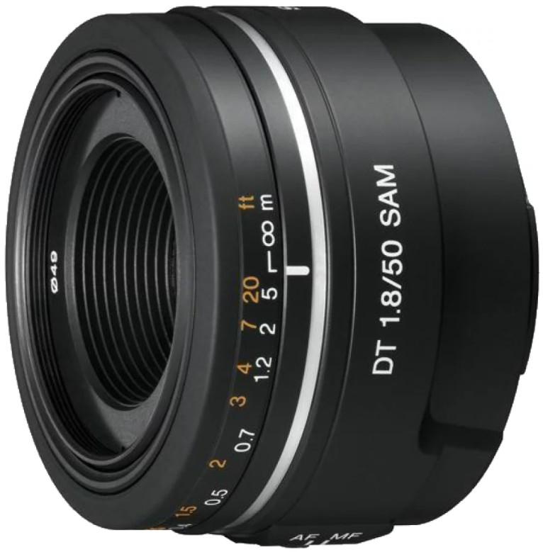 Объектив Sony DT 50mm f/1.8 SAM Black