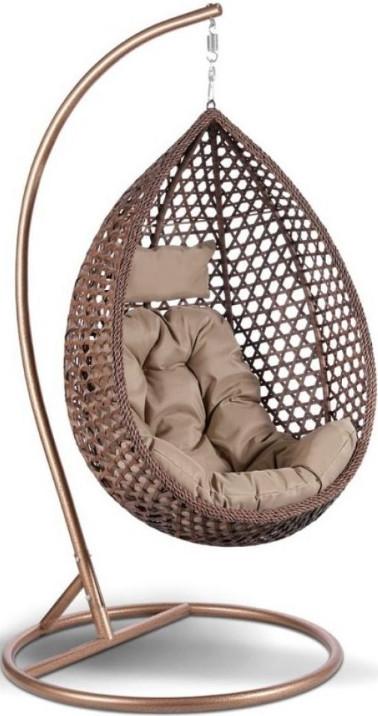 Кресло Афина-Мебель AFM-319B коричневый