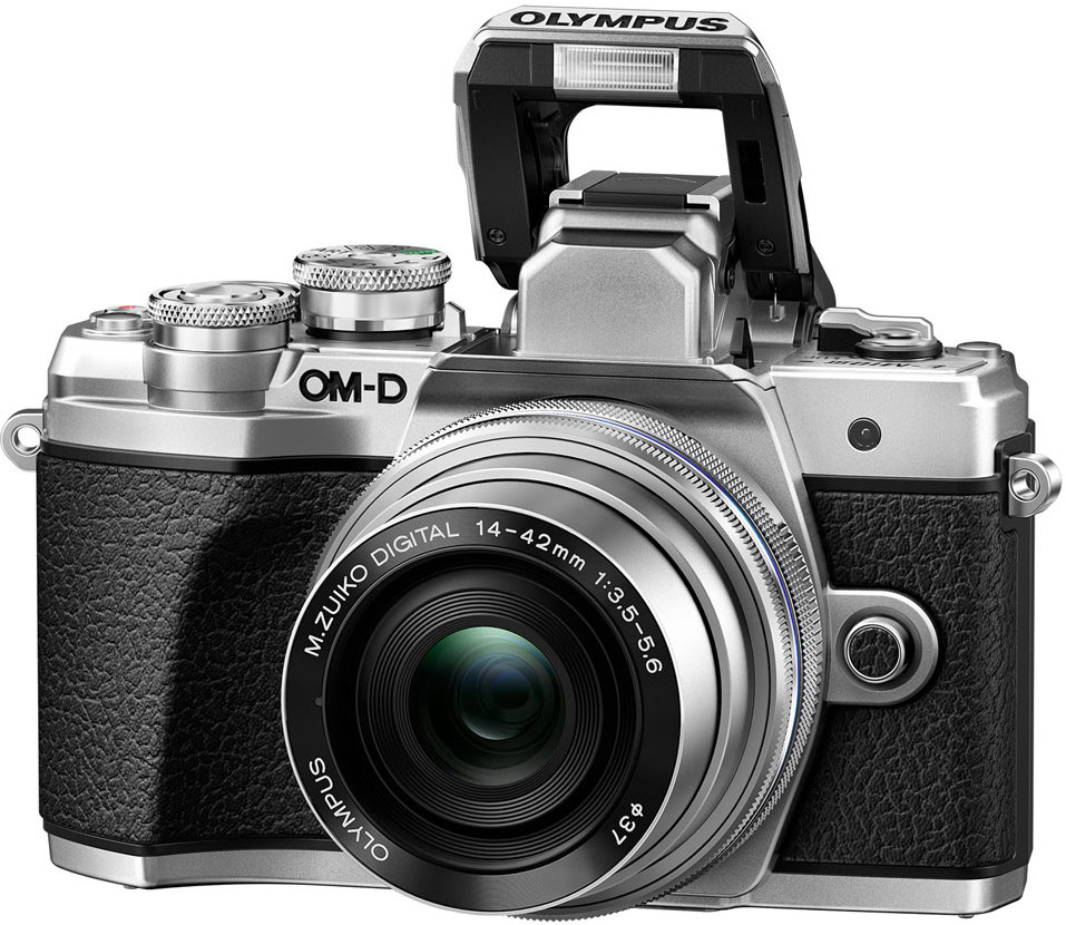 Фотоаппарат Olympus OM-D E-M10 Mark III Kit 14-42mm f/3.5-5.6 EZ Silver + 40-150mm f/4.0-5.6 R