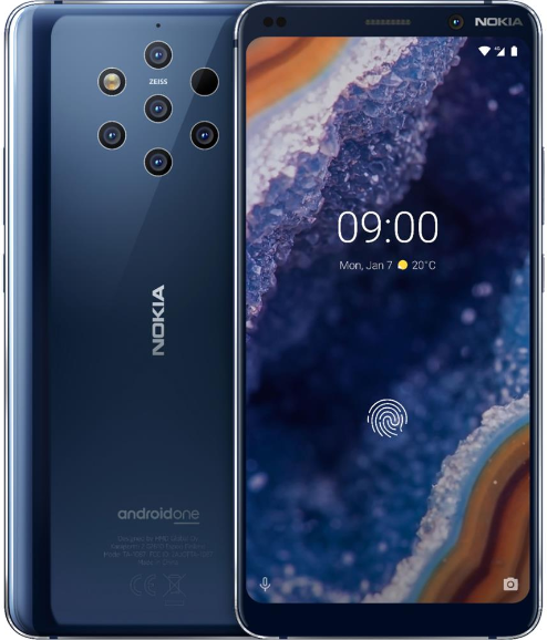 Смартфон Nokia 9 PureView LTE 6Gb 128Gb…