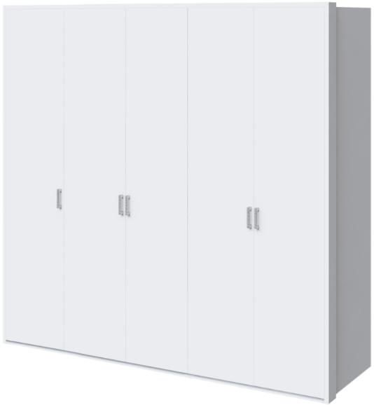 Шкаф Интердизайн Белла белый глянец 221x232x60 см