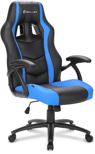 Игровое кресло Sharkoon Shark Skiller SGS1 черный/синий