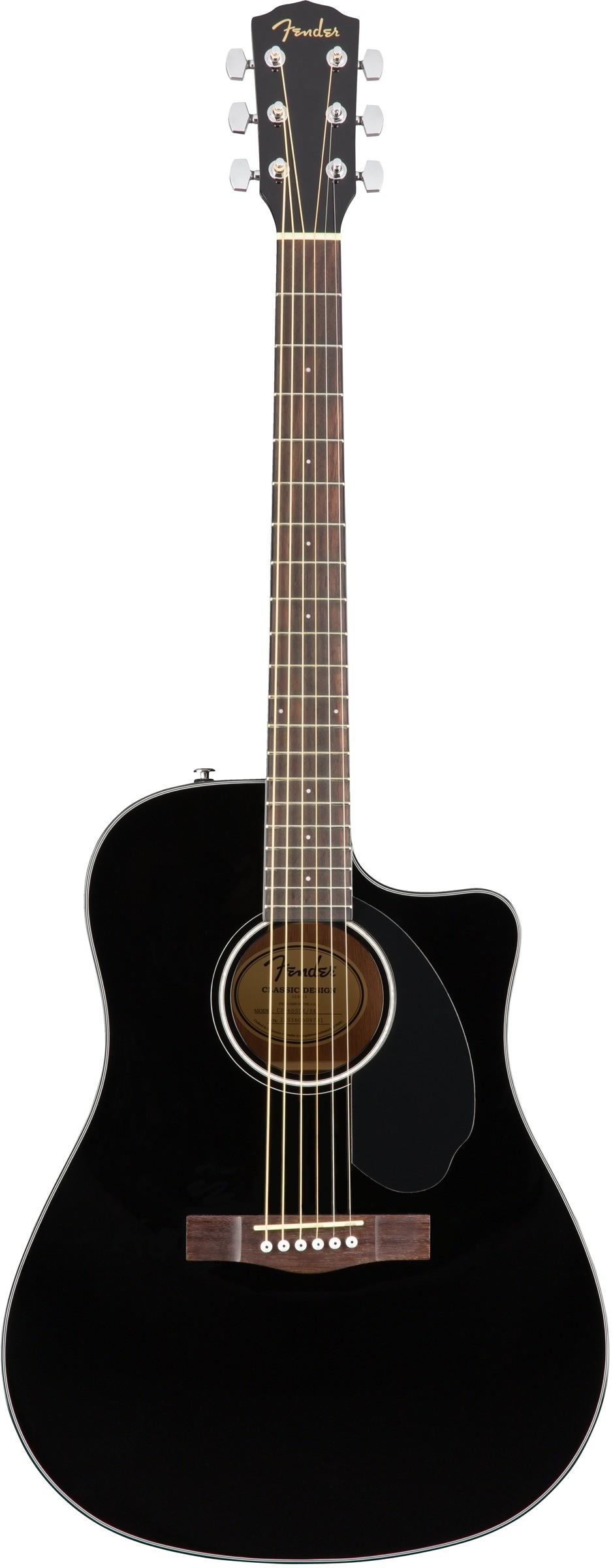 Акустическая гитара FENDER CD-60SCE Dre…