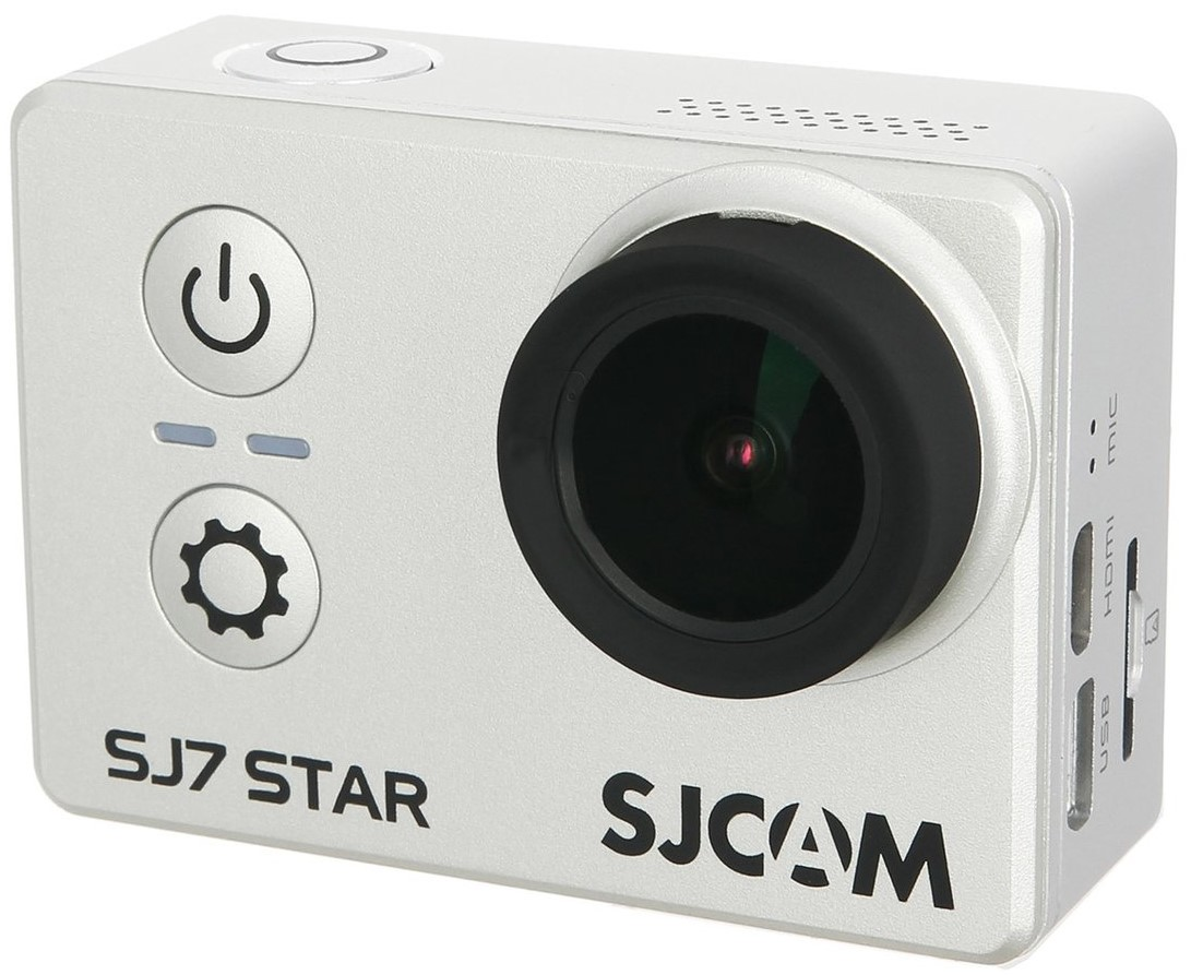 Экшен-камера Sjcam SJ7 Star Silver