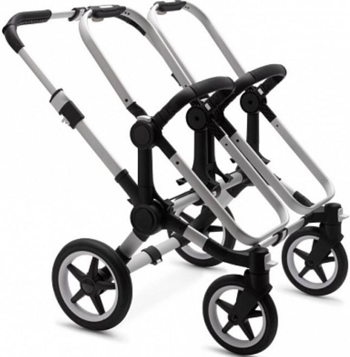 Основание коляски Bugaboo 180110ZW05 Alu (шасси Silver)