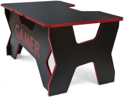 Компьютерный стол Generic Comfort Gamer2/DS/NR Black/Red