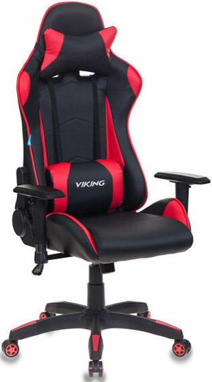 Игровое кресло Бюрократ CH-778/BL+RED черный/красный