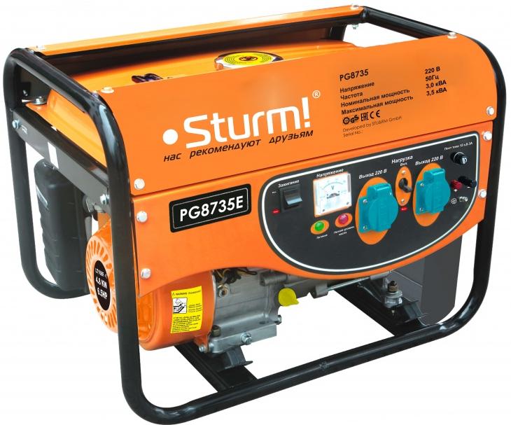 Электрогенератор Sturm! PG8735E