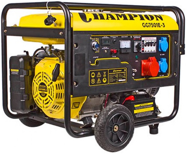 Электрогенератор Champion GG7501E-3