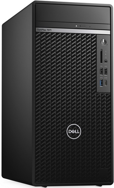 Компьютер Dell OptiPlex 7071 3GHz/16Gb/1Tb/256GbSSD/GTX1660/W10 Black