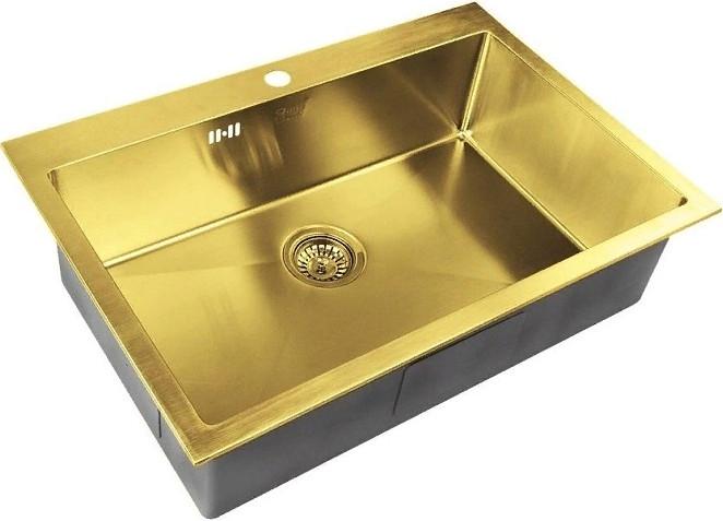 Кухонная мойка Zorg SZR-7551 Bronze