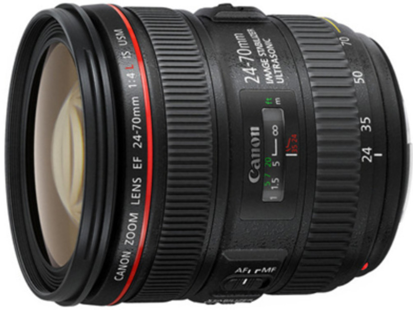 Объектив Canon EF 24-70mm f/4.0 L IS USM Black