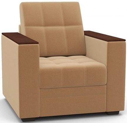 Кресло Цвет Диванов Атланта Next медовый 90x92x94 см