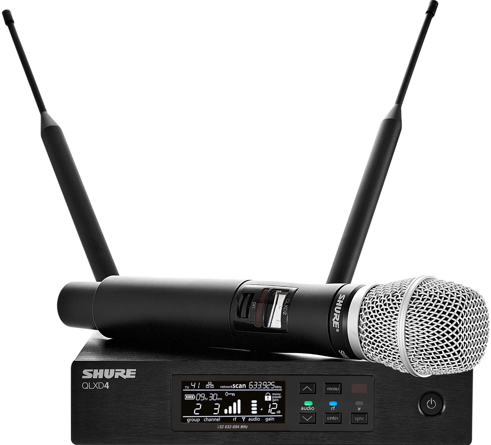 Радиосистема Shure QLXD24E/SM86 G51