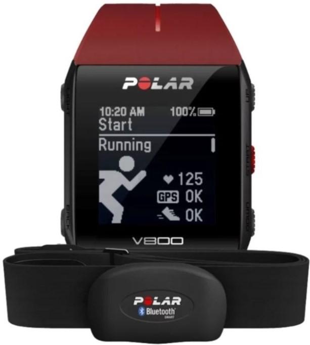 Умные часы Polar V800 Red + Polar H7