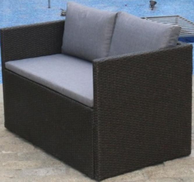 Диван Афина-Мебель S330A-W63 коричневый