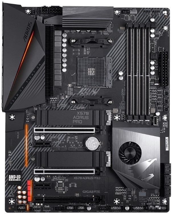 Материнская плата Gigabyte X570 Aorus Pro (rev.1.0) Retail AM4