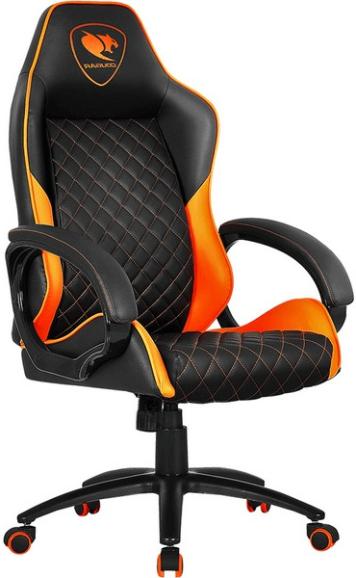 Игровое кресло Cougar Fusion черный/оранжевый
