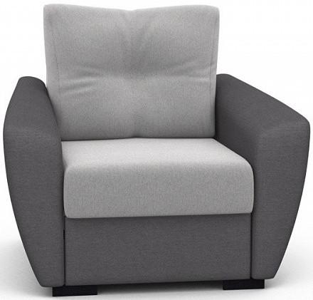 Кресло Цвет Диванов Амстердам Next светло-серый 104x90x76 см