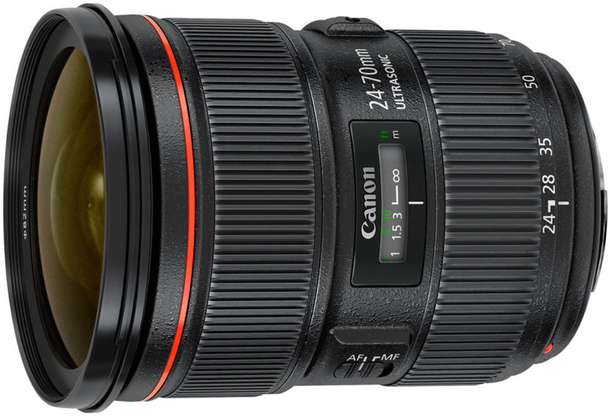 Объектив Canon EF 24-70mm f/2.8 L II USM Black