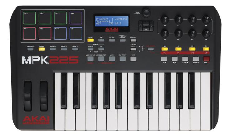 Миди-клавиатура Akai MPK225