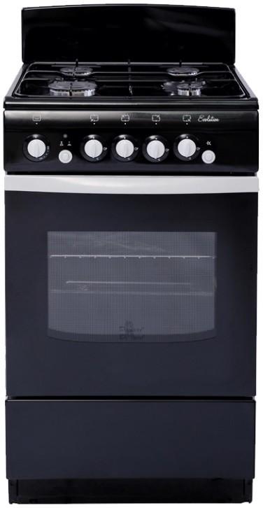 Плита DeLuxe 5040.36Г (Щ) черный