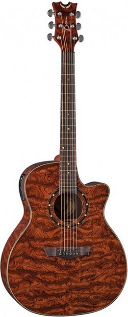 Акустическая гитара Dean Exotica A/E Bubinga